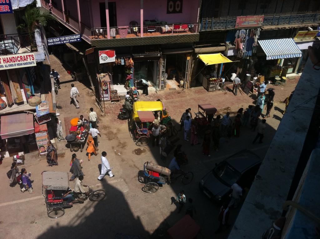 Intersecție în Paharganj