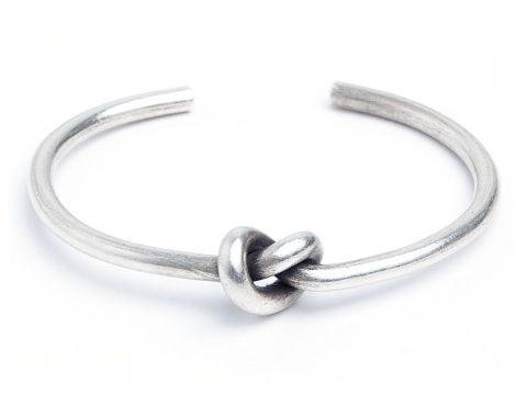 Brățară Love Knot (Nocul Iubirii), argint, Thailanda