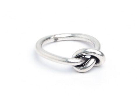 Inel argint Love Knot - Nodul Iubirii, Thailanda