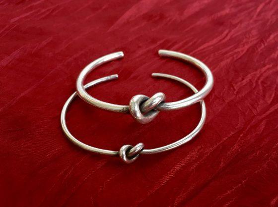 Bratari din argint cu nodul iubirii, cadourile perfecte pentru indragostiti, de la Metaphora
