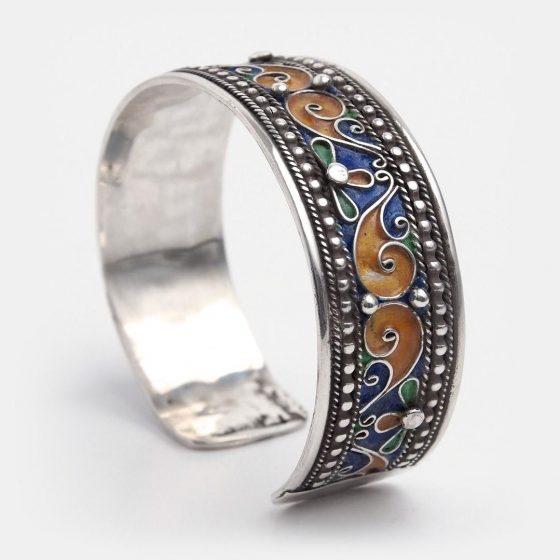 Bratara marocana Metaphora este un cadou unicat pentru prietena cea mai buna de ziua ei sau de sarbatori