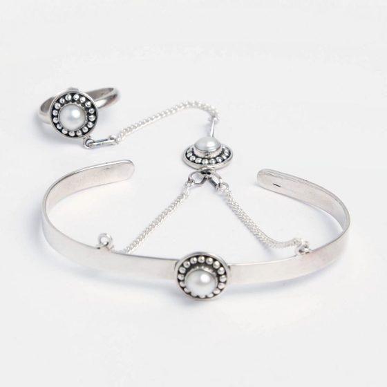 bijuterii din argint cu perle naturale