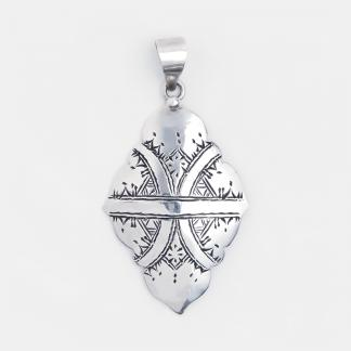 Amuletă din argint Tazzara, Niger