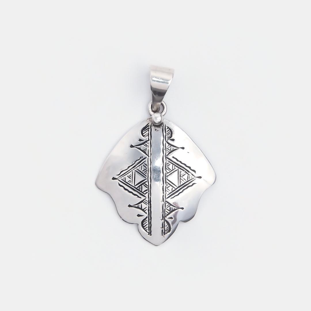 Amuletă hamsa din argint Konni, Niger