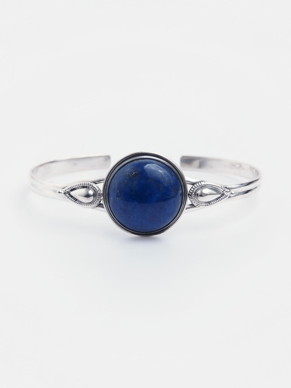 Brățară din argint și lapis lazuli Andhra Pradesh, India