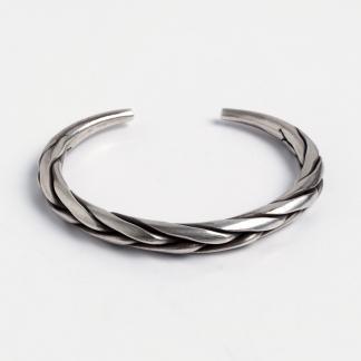 Brățară împletită Ko, argint, Thailanda