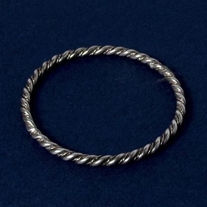 Brațară marocană rigidă, argint
