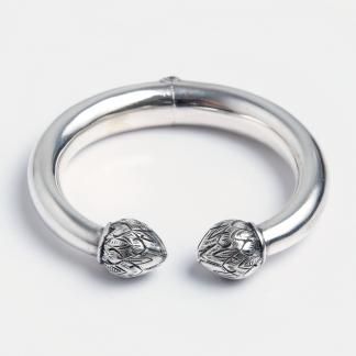 Brățară simplă Sang Ra, argint, Thailanda