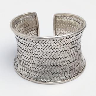 Brățară statement Khajee argint, Thailanda