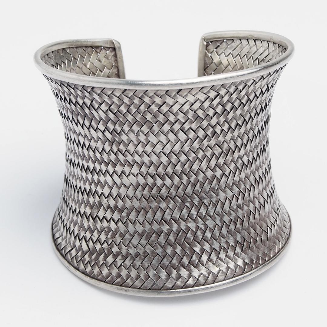 Brățară statement Khajee, argint, Thailanda