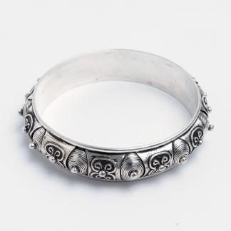 Brațară Sufi, argint, Maroc