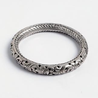 Brățară Uttar, argint, India