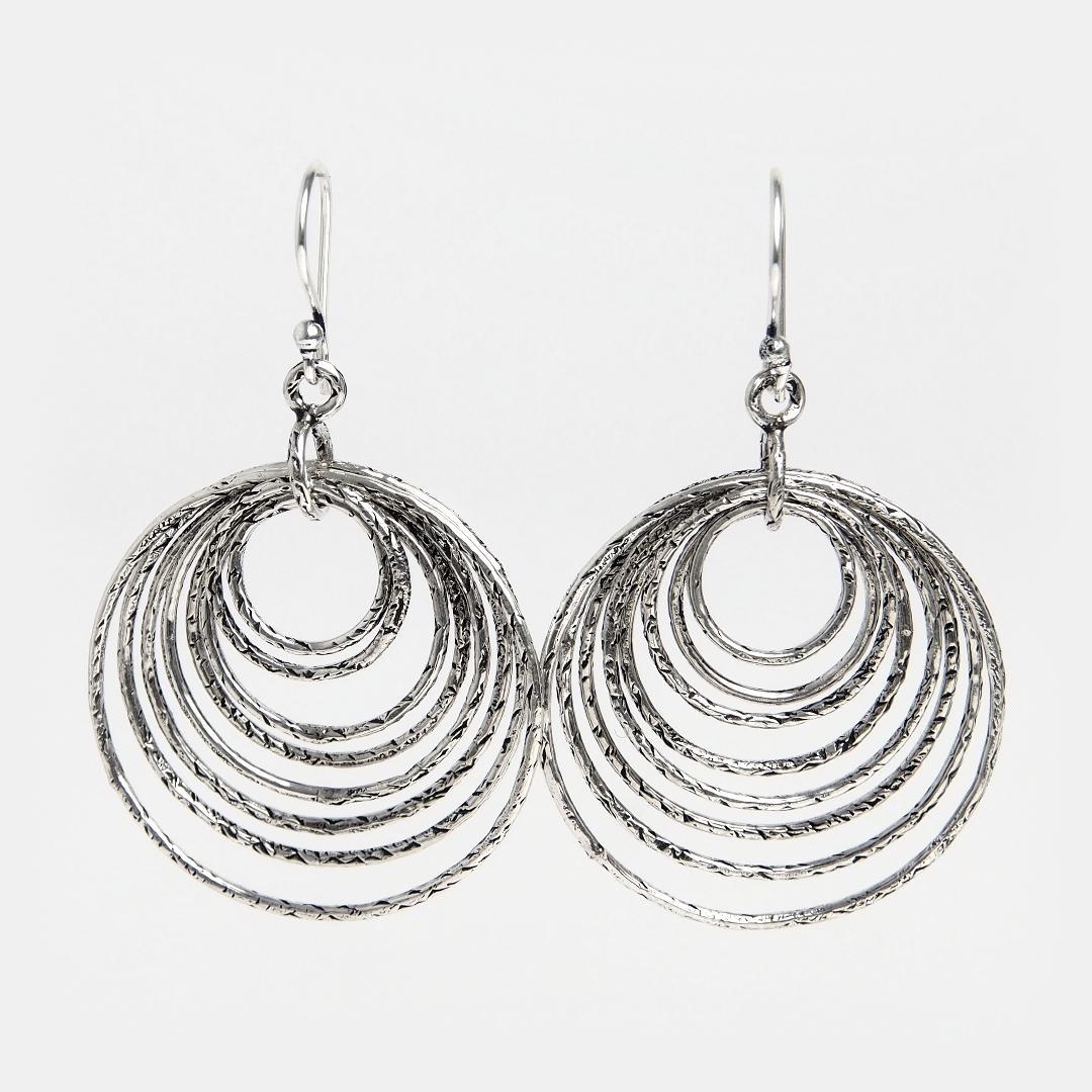 Cercei din argint Kaledja, India