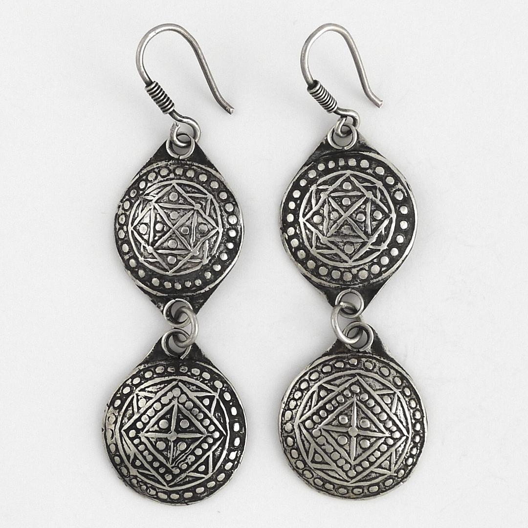 Cercei berberi argint