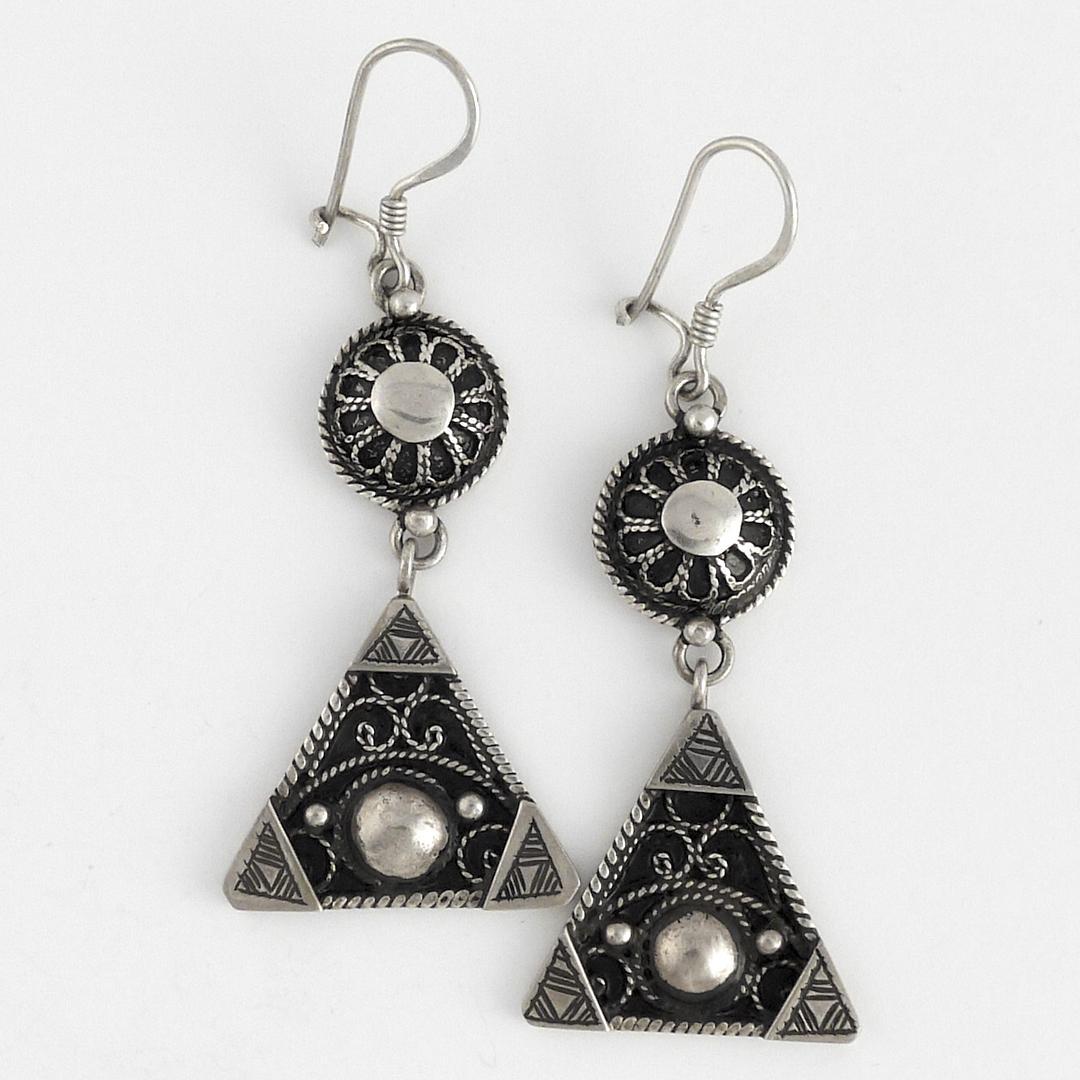 Cercei berberi argint filigran
