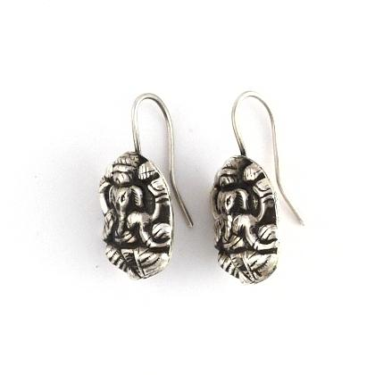 "Cercei indieni ""Ganesha"" argint"