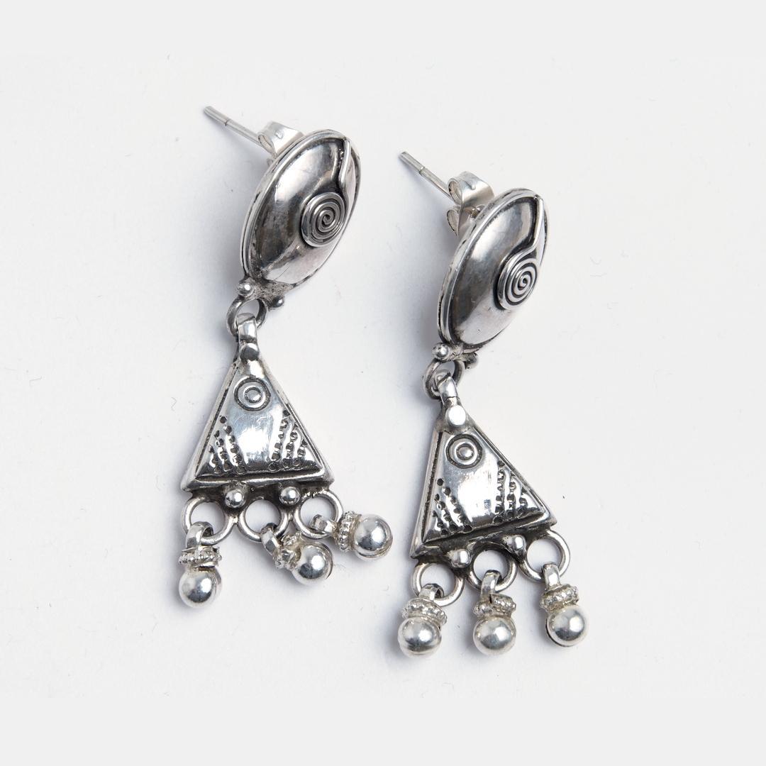 Cercei Jayesh, argint, India