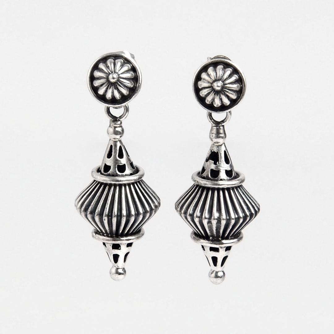 Cercei Raja, argint, India