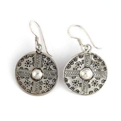 Cercei tuaregi argint