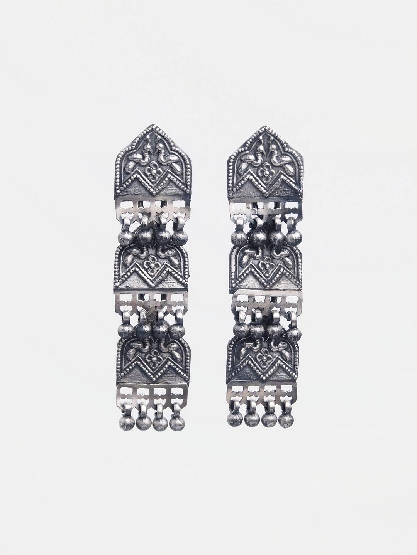 Cercei statement unicat argint, India