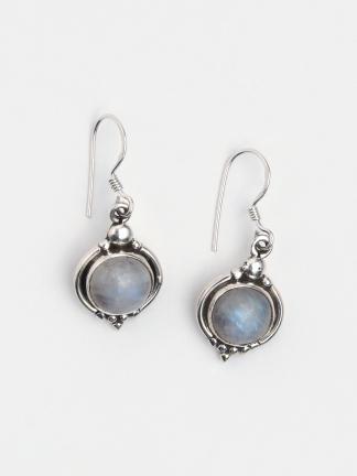 Cercei argint și piatra lunii, India