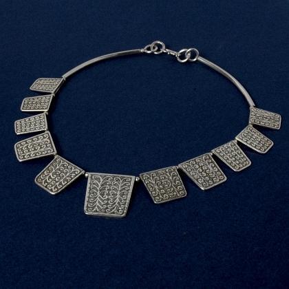 Colier indian argint