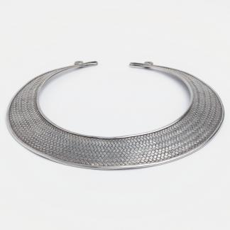 Colier statement unicat Khajee, argint, Thailanda