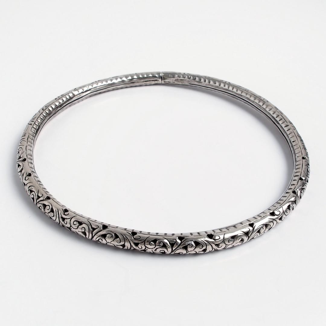 Colier statement Uttar, argint, India