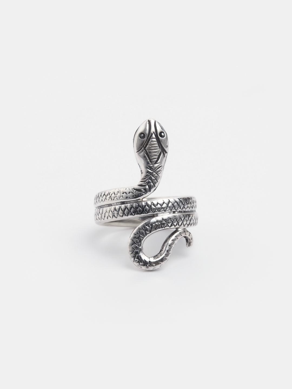 Inel șarpe argint Nagat, India