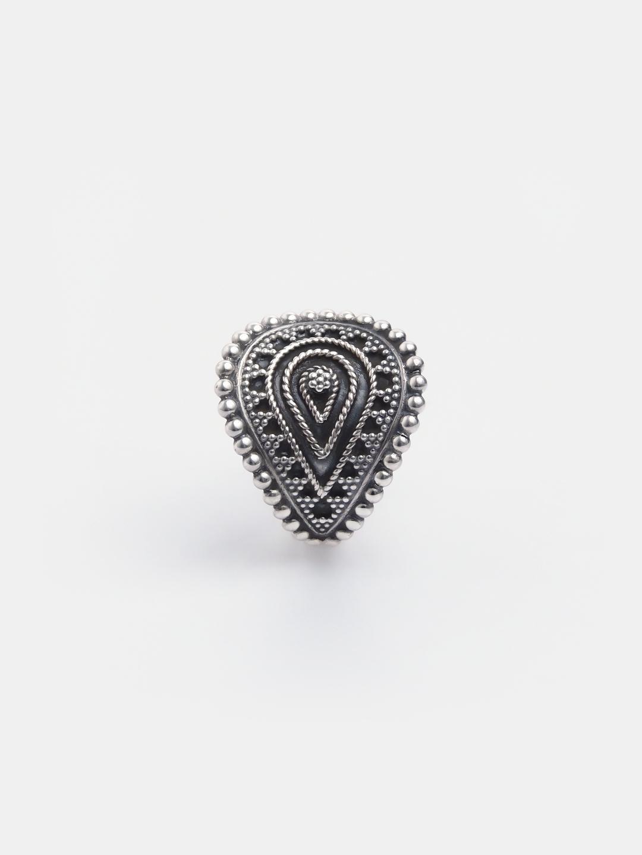 Inel Yoni argint reglabil, India