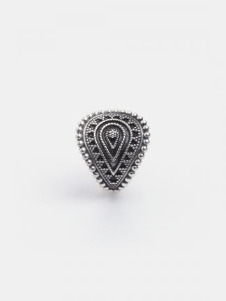 Inel simbolul feminității Yoni, argint, India
