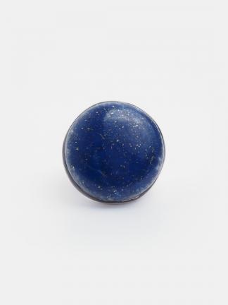 Inel statement argint și lapis lazuli Sundharata, India