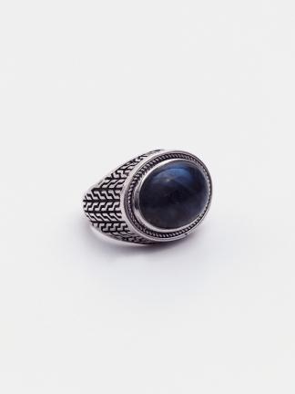 Inel argint și labradorit, India
