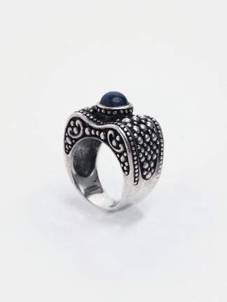 Inel unicat argint și lapis lazuli, India
