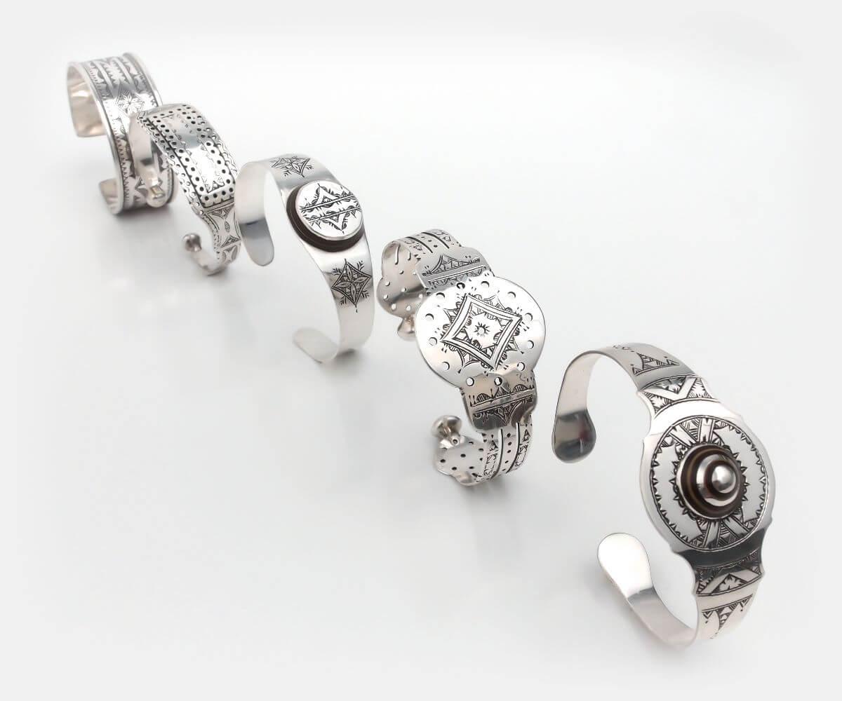 brățări tuarege argint