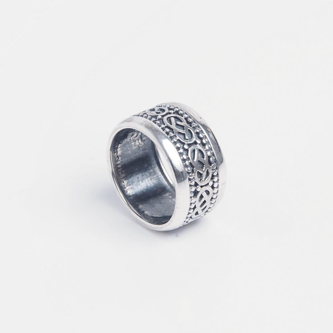 Inel din argint 925 simbol celtic