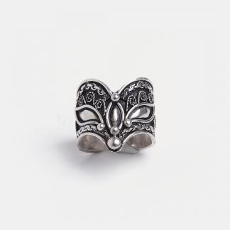 Inel din argint Shritti, India