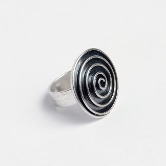 Inel argint spirală Swadee, Thailanda