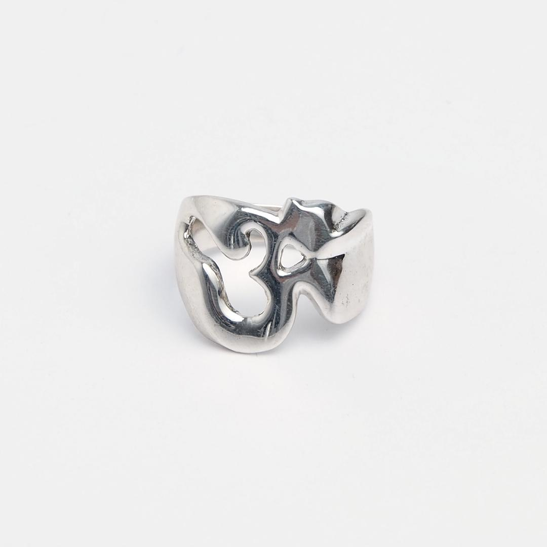 Inel Aum, argint, Nepal