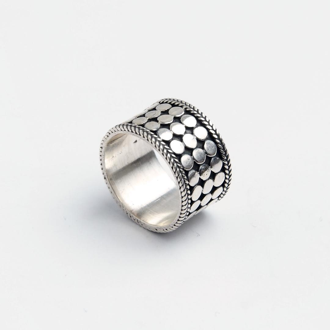 Inel Hema, argint, India