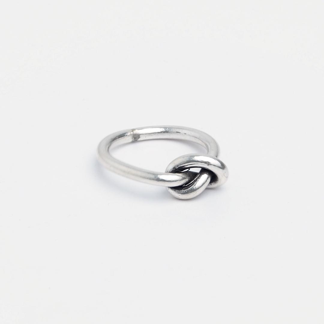 Inel Love Knot, argint, Thailanda