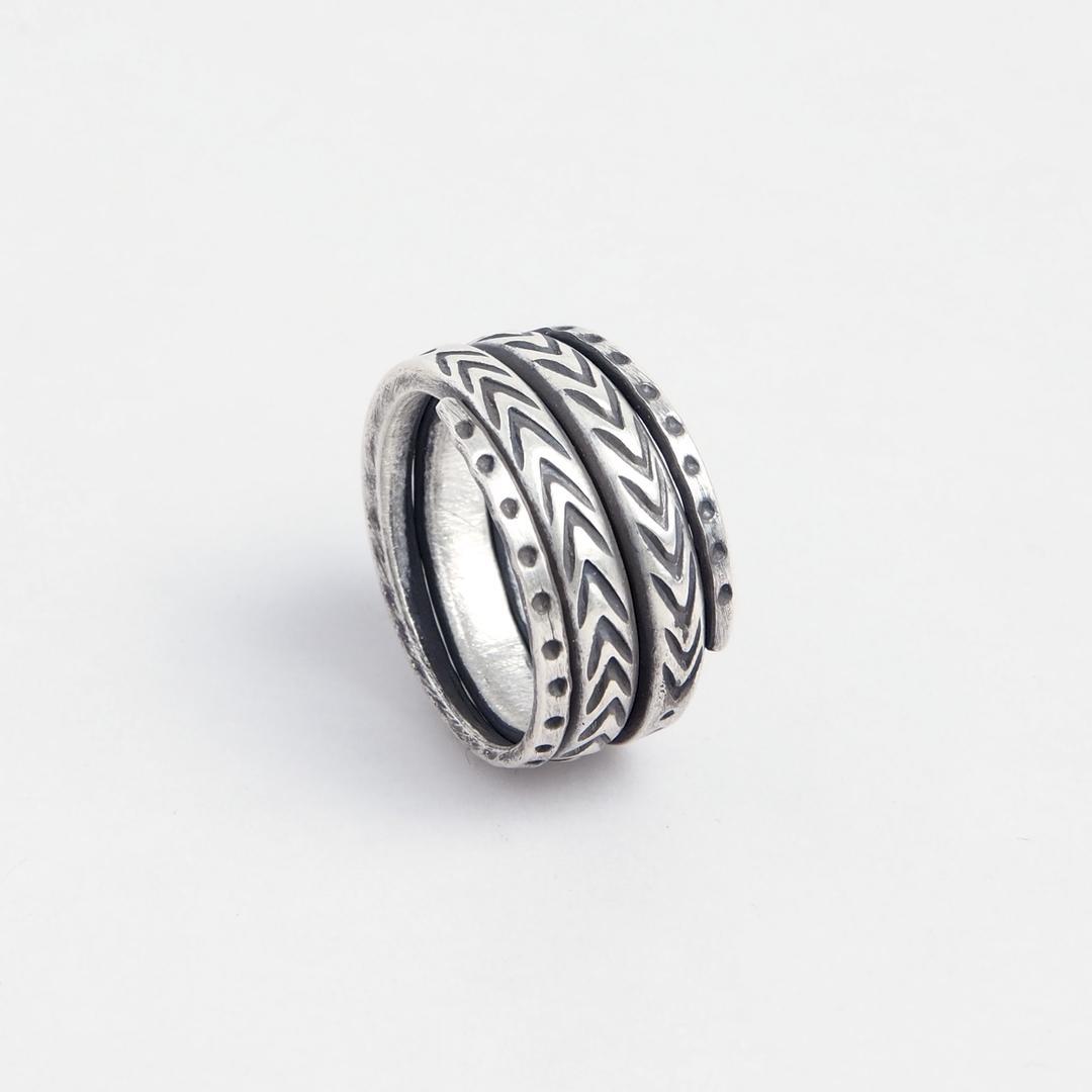 Inel Maekong, argint, Thailanda