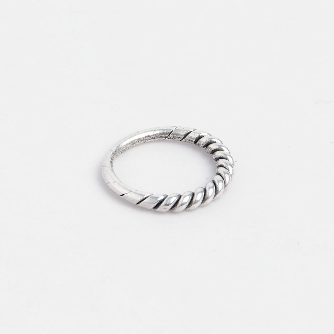 Inel spirală Hmong, argint, Thailanda