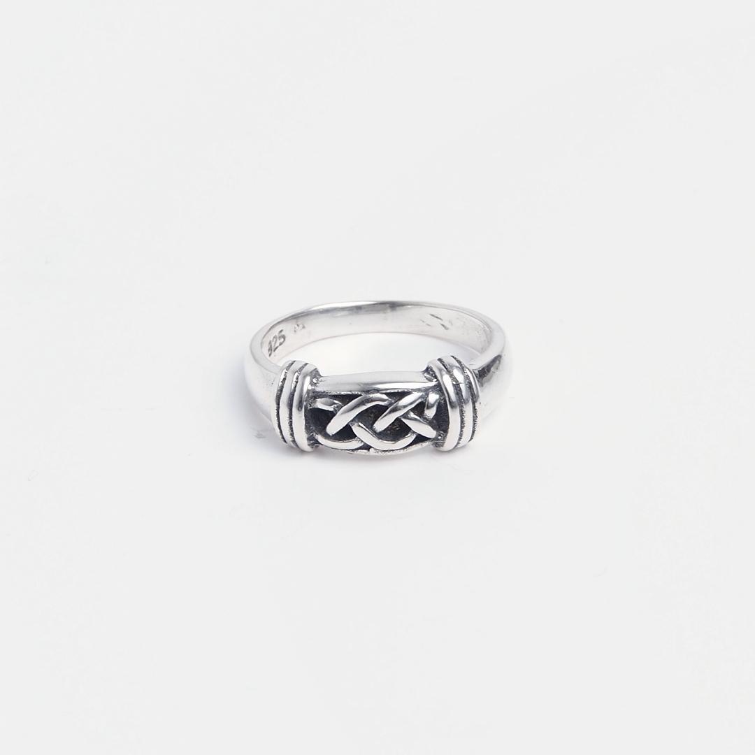 Inel subțire simbol celtic din argint 925