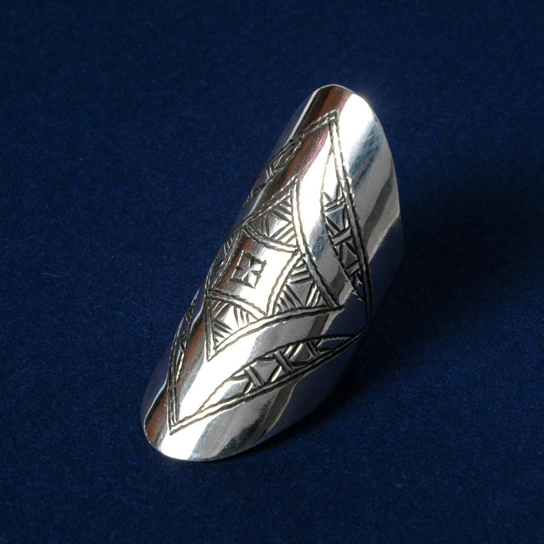 Inel tuareg argint