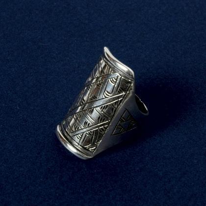 Inel tuareg argint gravat IV