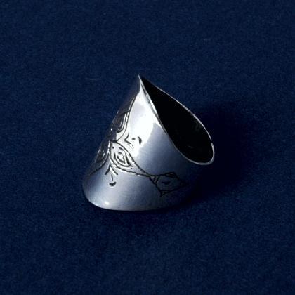 Inel tuareg argint VII
