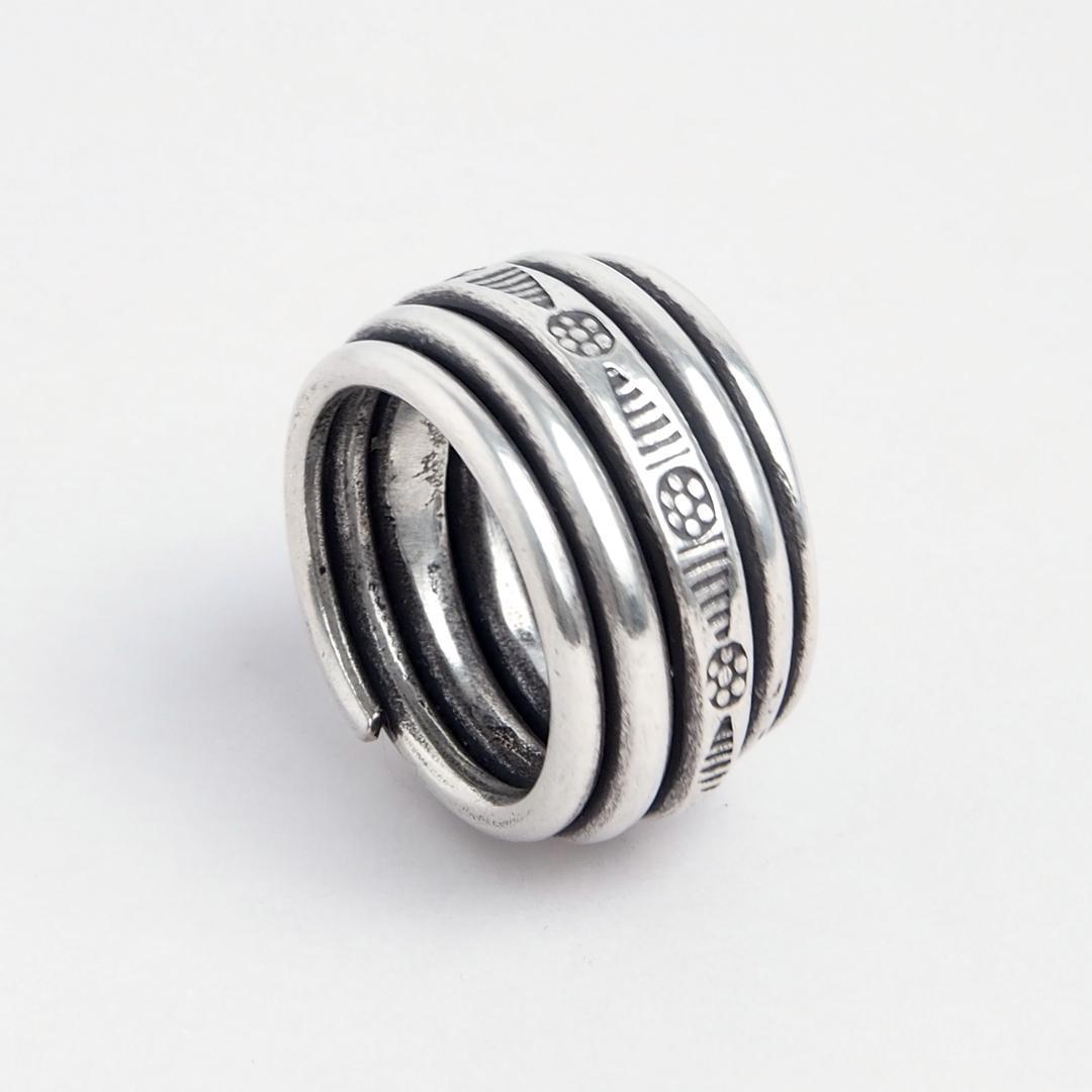Inel Yunnan, argint, Thailanda