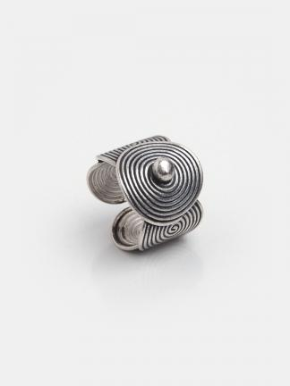 Inel spirale din argint Rathana, Thailanda