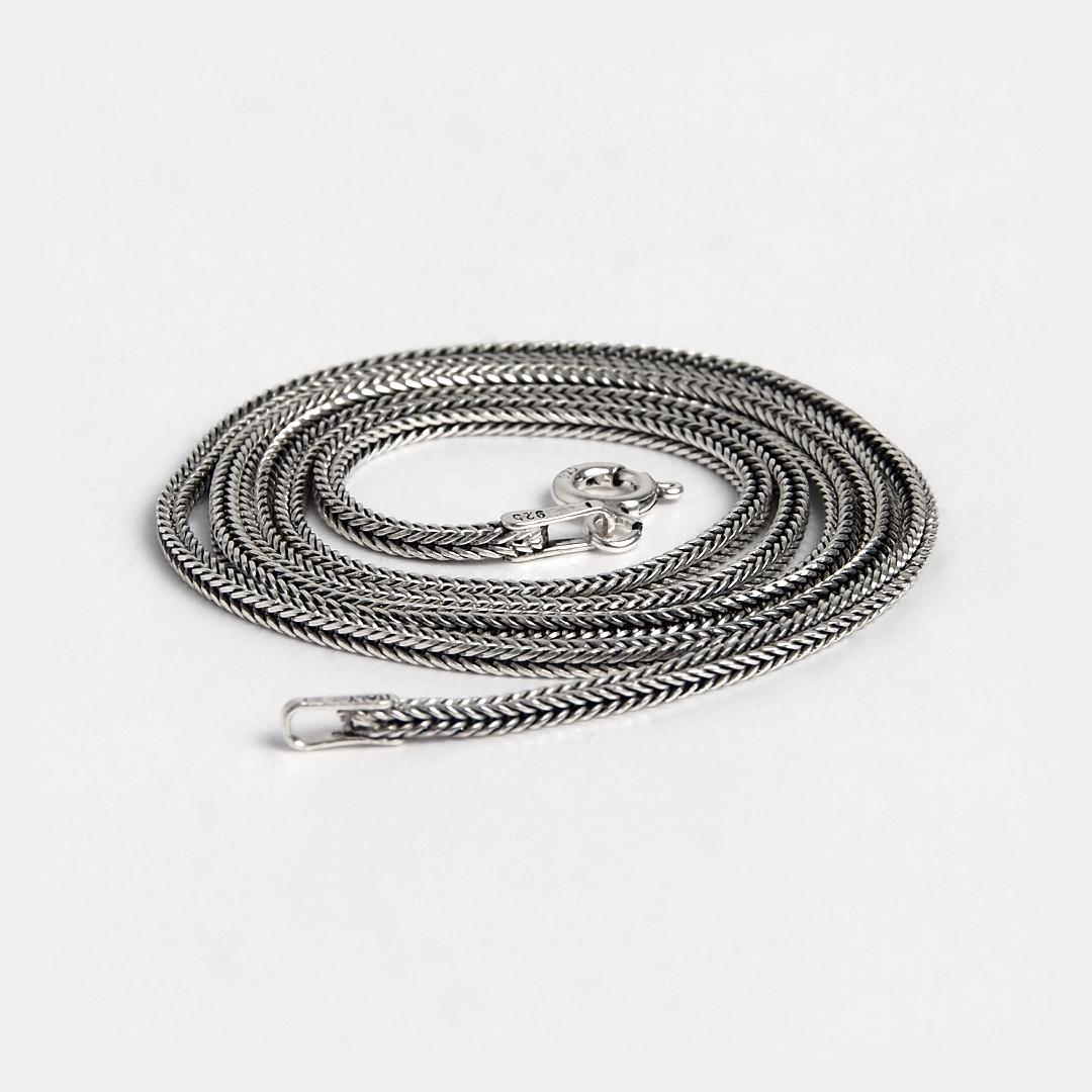 Lanț din argint Chang, 50 cm, Thailanda